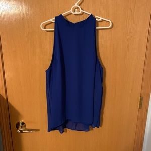 Deb // Blue Sleeveless Blouse 2x